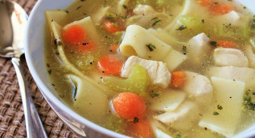 healthy chicken stock recipe