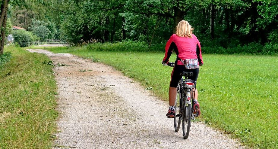 Cycling is a fun and healthy workout